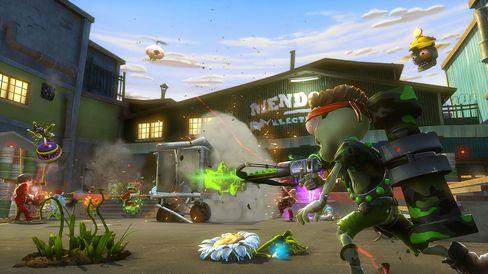 Plantene og zombiene krigar vidare.