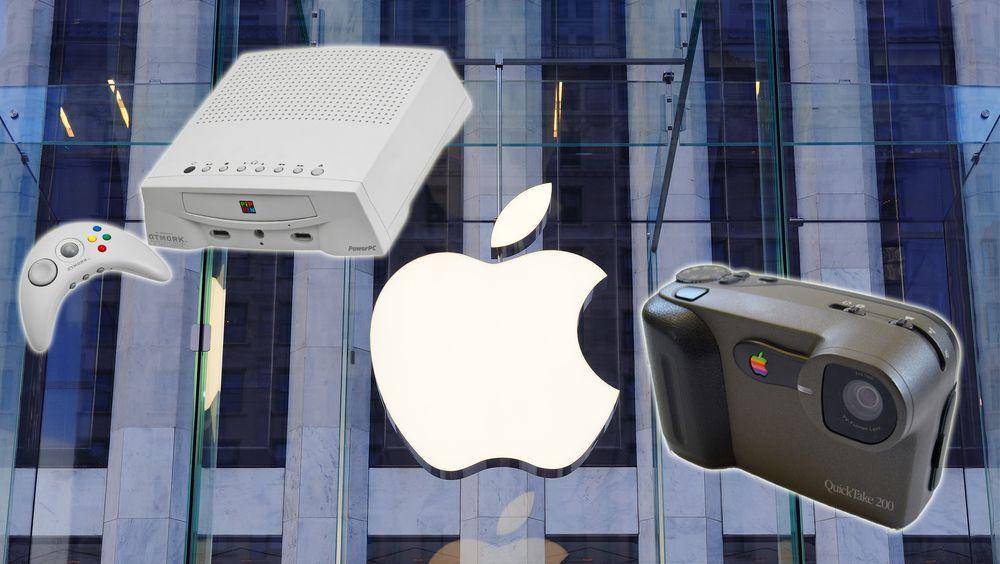 Visste du at Apple har laget kamera og spillkonsoller?