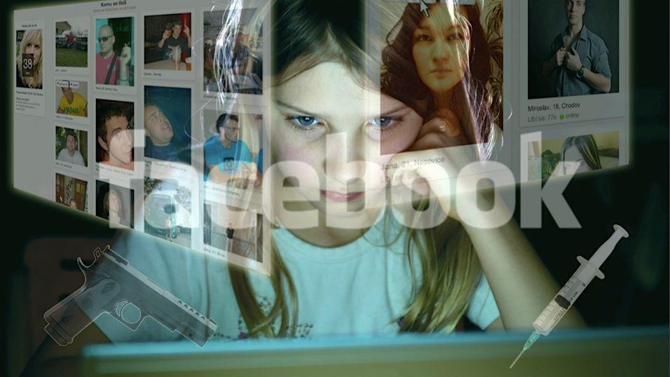 Barn eksponeres for voksenreklame på Facebook