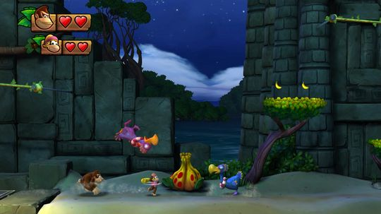 Donkey Kong Country: Tropical Freeze.