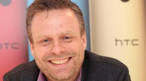 Peter Frølund i HTC.