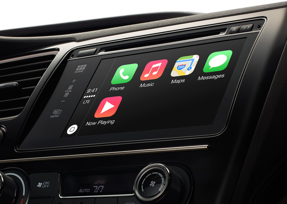 Slik er Apple CarPlay