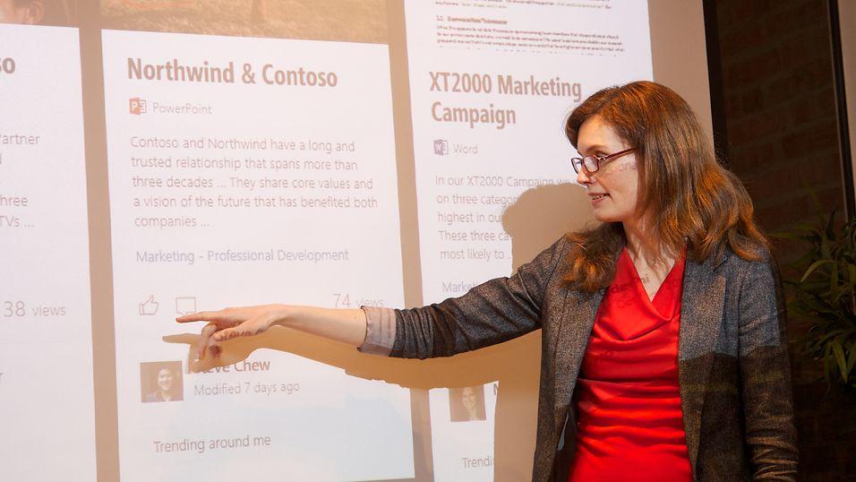 Senior Designer Berit Herstad fra MDCN i Microsoft.
