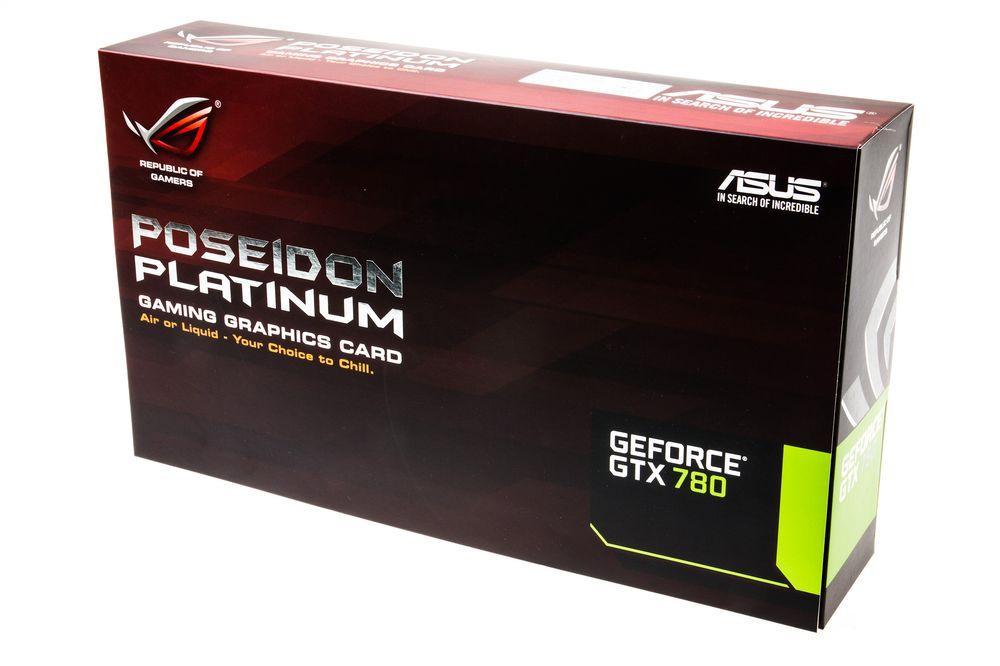 Asus ROG Poseidon Platinum: Produkteske.