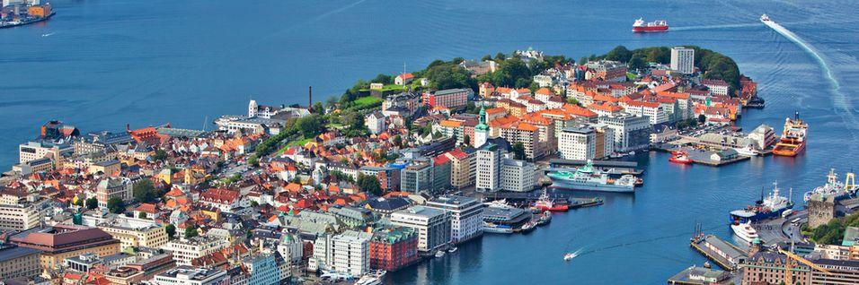 I Bergen har 20.000 av 120.000 husstander fiber. Interessen er stor, ifølge fiberleverandør Altibox.