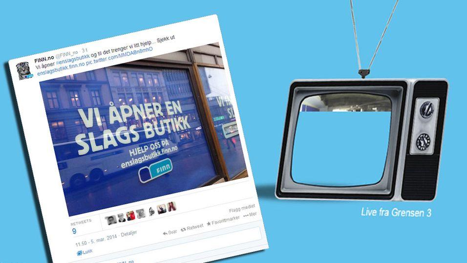 Finn.no åpner butikk i Oslo