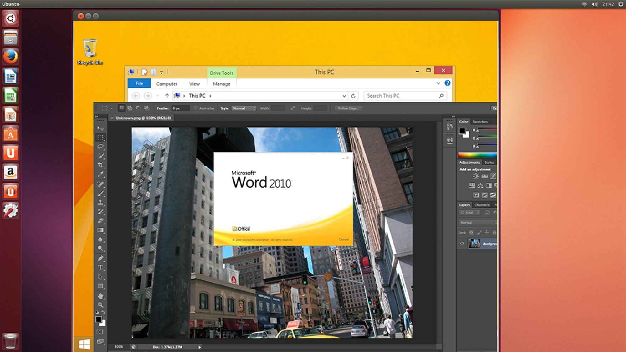 GUIDE: Slik får du brukt Windows-programmer i Linux
