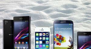 Se hvilke mobiler som solgte best i februar