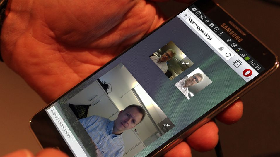 Opera får støtte for mobile videokonferanser