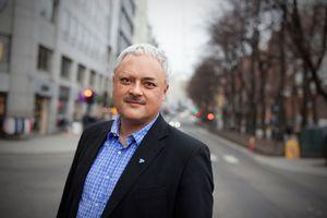 Jorge Jensen i Forbrukerrådet mener BankAxept ikke har holdt tritt med utviklingen.