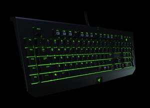 Slik ser det nye mekaniske tastaturet fra Razer ut.