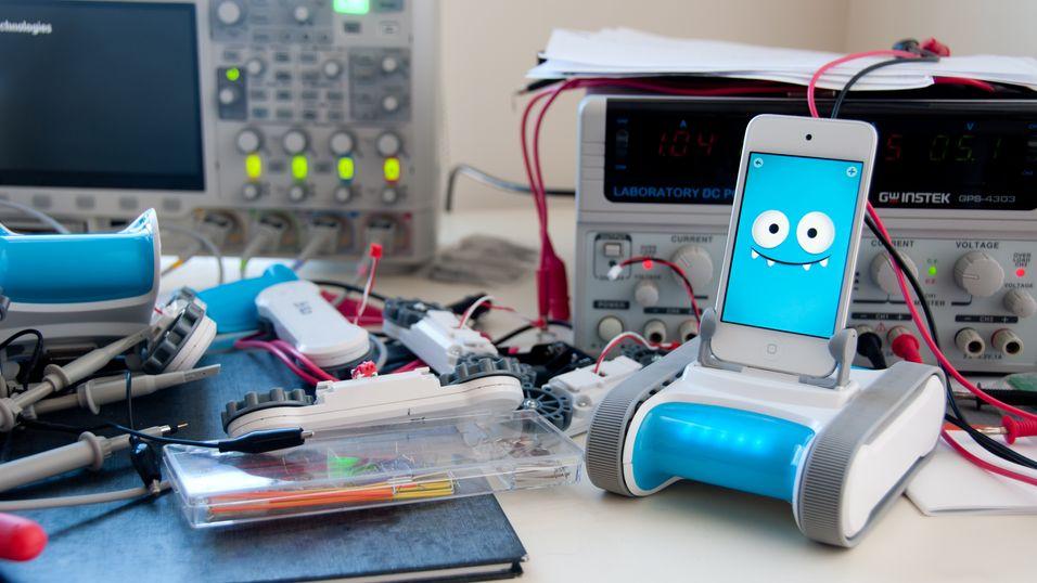 Bygg en robot av mobilen din