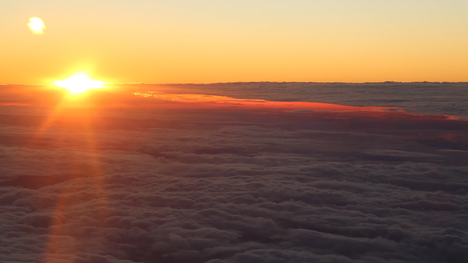 Fanget flott «hyperlapse»-video fra et fly