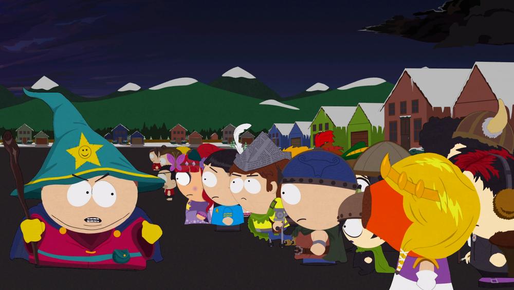 Et stort slag skal utkjempes i South Park, Colorado, hvor hele universets skjebne står på spill. (Bilde: Gamer.no)
