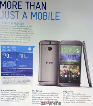 GSM Arena fikk nylig tak i en Telstra-brosjyre med detaljert informasjon om den nye HTC-toppmodellen.