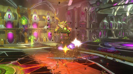 En sniktitt fra spillets siste raidhule. (Bilde: Carbine Studios/NCsoft).