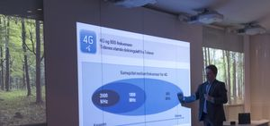 Telenor presenterte 4G-planene under et pressemøte på Fornebu onsdag.