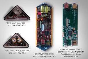 Den spesielle fasongen gir plass til to kraftige transistorer..