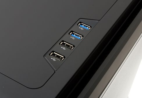Diverse USB-tilkoblinger.