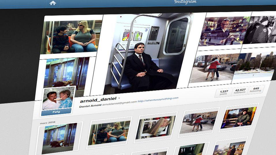Solgte Instagram-bilder for tusenvis av kroner