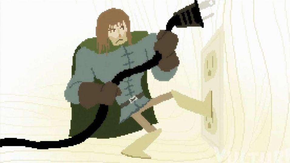 Ridderen av den dumme ruteren
