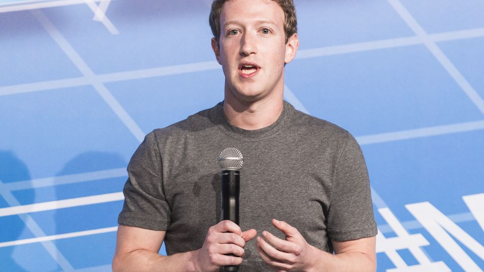 Mark Zuckerberg, her fra Mobile World Congress i februar.