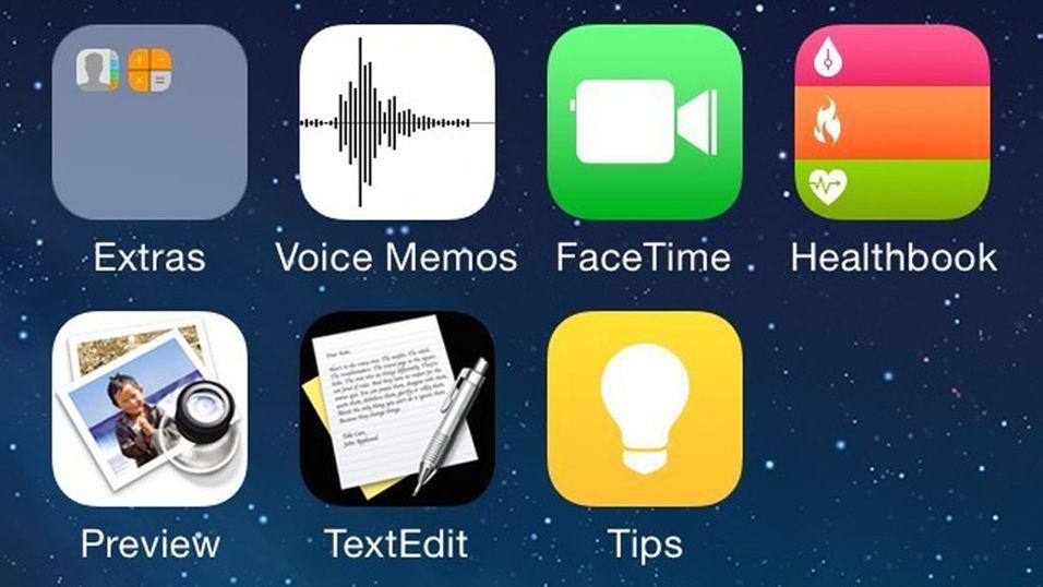 Er dette noen av funksjonene i nye iOS 8?