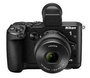 1 V3 med 1 Nikkor VR 10-30mm.