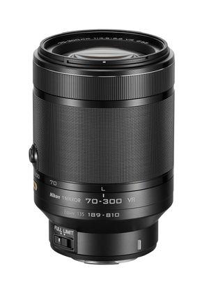 1 Nikkor VR 70-300 mm.