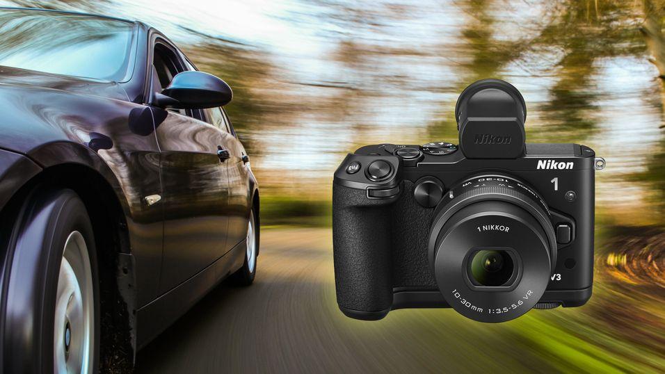 Nikon 1-seriens nye flaggskip er en real kjapping