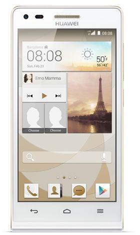 En av Huaweis nyeste Android-mobiler, Ascend G6 4G.