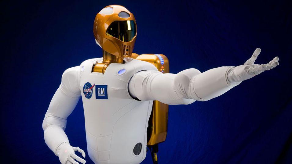 NASA skal sende robot på romvandring