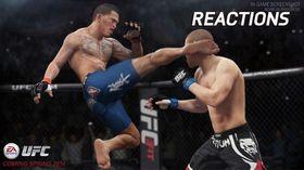Det går hardt for seg i det kommende UFC-spillet.