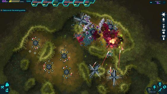 Underveis får fienden mutasjoner. (bilde: Gamer.no).