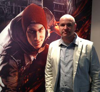 Nate Fox har tidligere arbeidet med de to første inFamous-spillene. Nå står Second Son for tur.