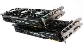 Gigabyte GeForce GTX 780 Ti GHz Edition er nesten helt identisk med lillebroren – men det er utenpå.