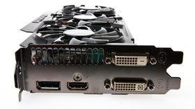 Gigabyte GeForce GTX 780 Ti GHz Edition kommer med både DVI, DisplayPort og HDMI-utganger.