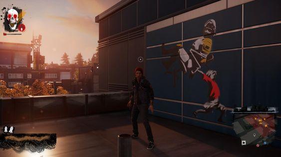 Grafitti-oppdragene bruker DualShock 4 på en artig måte, og tegningene er alltid like tankevekkende og interessante.