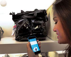 Ved hjelp av iBeacons –eller ShopBeacon som leverandøren Shopkick kaller det –kan du få informasjon og spesialtilbud på varer i nærheten.