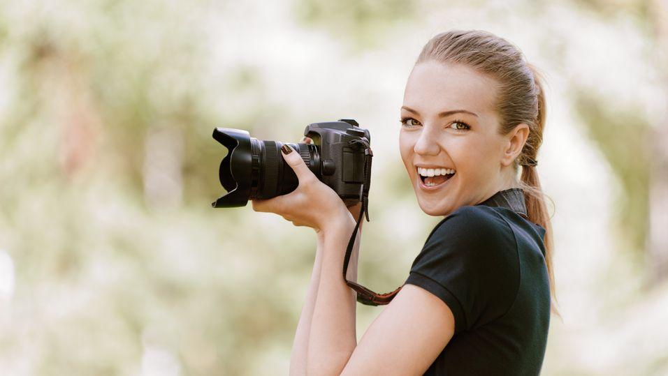 REFLEKSJON: – Ja, jeg elsker digitale kameraer