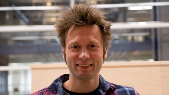 Audun Ytterdal, IT-driftssjef hos VG.