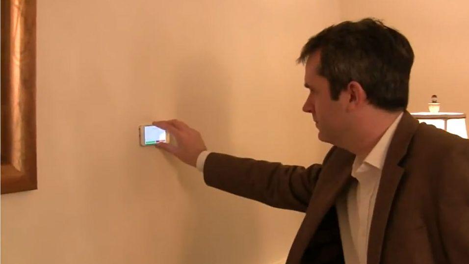 Bruk mobilen til å måle hvor stort rommet er