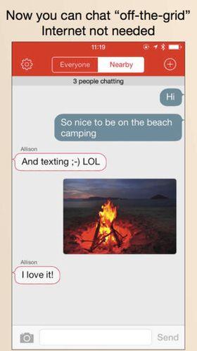 FireChat.