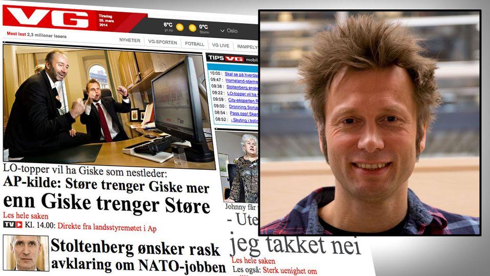 Audun Ytterdal er  IT-driftssjef hos VG. Torsdag denne uken stiller han og señor-utvikler Andre Roaldseth til nettmøte her på Hardware.no