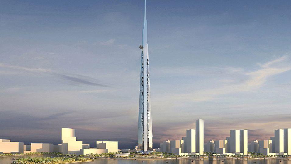 Reisningen av verdens høyeste bygning starter snart