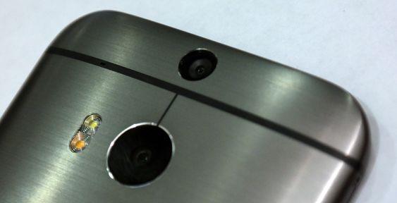 HTC One M8 har et nytt kamera. Men fremdeles er det bare på 4 megapiksler, der hver piksel kan ta inn 300 prosent mer lys enn pikslene på 16 megapikselkameraene kan.