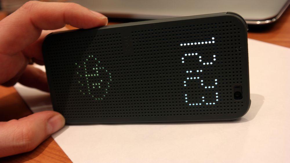 Mobildeksel til HTC One M8.