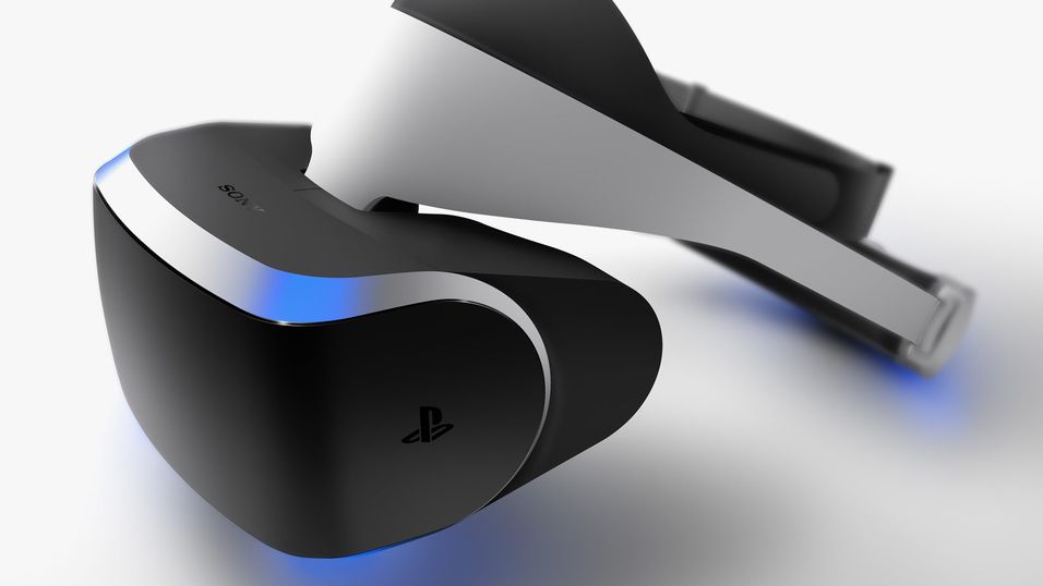 Sonys VR-briller «Project Morpheus».