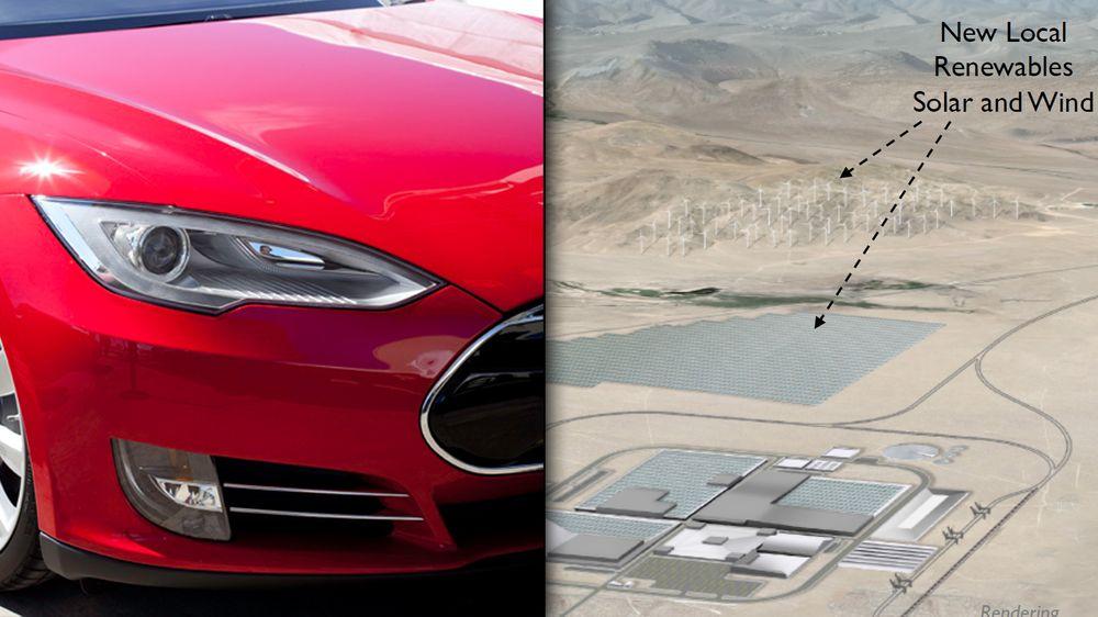 Tesla kan bli verdens batterikonge