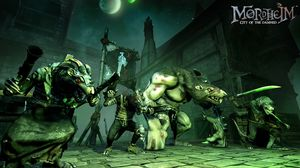 Warhammer-universet kan ikke anklages for å være spesielt lystig. (bilde: Focus Home Interactive).